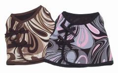 ダブルリボンベスト マーブル レトロなデザインがとってもキュートなウエア 2色 ねこ ネコ 猫 marie maison de mieux