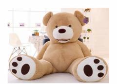 ぬいぐるみ 特大 くま/テディベア アメリア コストコ 可愛い熊 動物 160cm 大きい 巨大 くまぬいぐるみ 熊縫い包み/クマ抱き枕