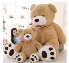 クマ ぬいぐるみ 特大 可愛い動物  アメリア コストコ お祝い プレゼント ぬいぐるみ 特大 くま/テディベア 可愛い熊 動物 130cm