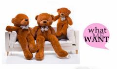 ぬいぐるみ 特大 くま/テディベア 可愛い熊 動物 大きい くまぬいぐるみ/熊縫い包み/クマ抱き枕140cm