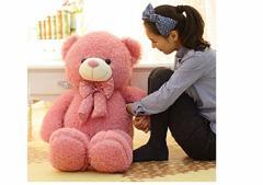 可愛いテディベア クマ ぬいぐるみ くま 特大 4色 80cm 抱き枕
