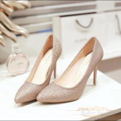 レディース ハイヒール パンプス 靴 痛くない 美脚パンプス ポインテッドトゥパンプス 歩きやすい 結婚式 二次会6cm 9cm