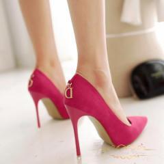 ローズレディース ハイヒール パンプス 靴 痛くない 美脚パンプス ポインテッドトゥパンプス 歩きやすい 仕事履きに最適 10cm
