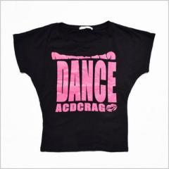 原宿・竹下っ仔の必須アイテム!!1DANCE Tシャツ /キッズ ダンス ウェア 衣装 ヒップホップ