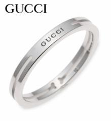グッチ 指輪 リング 373512-J8500/9000 サイズ:#10号 ホワイトゴールド GUCCI