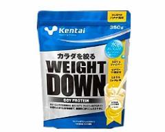 ウエイトダウン ソイプロテイン バナナ風味 350g 【Kentai(ケンタイ)/健康体力研究所】
