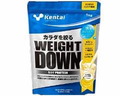 ウエイトダウン ソイプロテイン バナナ風味 1kg 【Kentai(ケンタイ)/健康体力研究所】