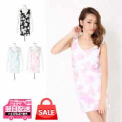 <60%OFF★OUTLET>【Water Flowerタンクワンピース】ONEPリップサービス0453303420[LIPSERVICE]フラワー