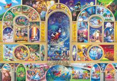 Disney ステンドアート ジグソーパズル【DSG-500-410 ディズニー オールキャラクタードリーム】ぎゅっとサイズ500ピース(25×36cm)