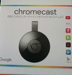 新品送料無料 Google Chromecast GA3A00133A16Z01 ブラック グーグル クロームキャスト