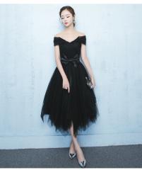 2017新作 パーティードレス  ミディアムドレス  二次会ドレス エレガント  演奏会 発表会 ピアノ キャバ嬢ドレス