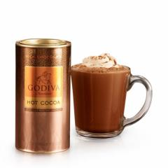 ゴディバ GODIVA ミルクチョコレート ココア 10回分 キャニスター缶