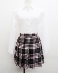 STARRYAGE プリーツスカート (ブラウン×ピンク) NEW! 全20種類 正規品 JK制服  ポイント10倍・送料無料!