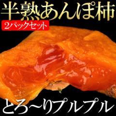 送料無料 柿 干し柿 あんぽ柿 2パック カキ フルーツ(gn)