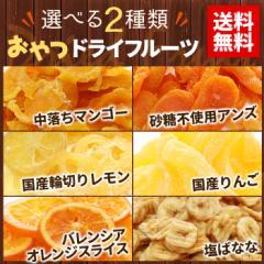 【送料無料】全6種から選べる2種類 ドライフルーツ 【お試しセット】 【ミックス】 【マンゴー】【メール便】