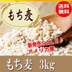 もち麦 3kg(1kg×3) 大麦 アメリカ産 即納可能