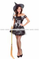 魔女 コスプレ 衣装 ハロウィン レディース 魔女 コスプレ 大人用 パティ衣装 コスチューム 仮装