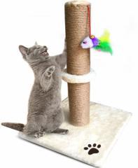 ★ ネコちゃんのストレス解消 爪とぎ タワーポール ★