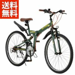 Raychell  折りたたみ自転車 R-314N【オリーブ】品番17075