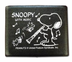 SNOOPY/Bbクラリネット用リードケース SCL-05(5枚入)【SNOOPY with Music】