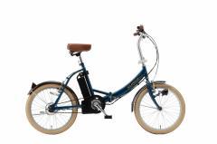 【送料無料】【代引き不可】 スイスイ 20インチ 折りたたみ電動アシスト自転車  ミムゴ折畳み自転車ネイビー D27-01 KH-DCY310