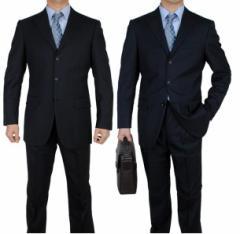 期間セール メンズ/セットアップ ビジネススーツ OL通勤 大きいサイズ/スリム/無地 就活 紳士 3点セット パンツ+ジャケット+ネクタイ