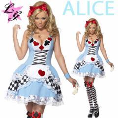 ハロウィン★大きいサイズS~3L/ セクシー 不思議な国のアリス コスプレ/コスチューム/ 仮装/ ディズニー/ドレス/メイド(LL/3L)