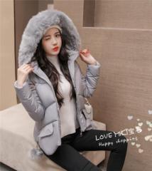 韓国ファッション レディースダウンジャケット 厚手長袖ダウンジャケット 防寒 保温 冬アウター ボア ゆったり2y048