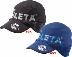 アスレタ ATHLETA 16FW 防風ウォームスウェットキャップ 05192 帽子 サッカー フットサル 倉庫在庫