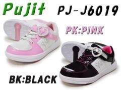 Pujit プジットJ6019PK:PINKBK:BLACK【キッズ】【19.0〜24.0cm】