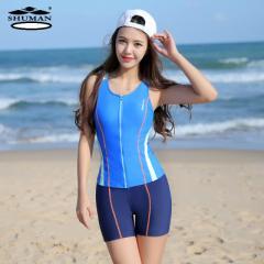 スポーツ水着 スイムウェア プール ジム運動用 フィットネス水着 セパレーツ レディース タンキニ 体型カバー セパレート 送料無料
