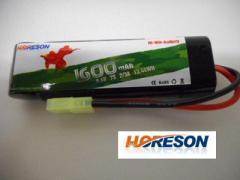 HORESON 8.4V 1600mAh ミニタイプバッテリー 電動ガン用