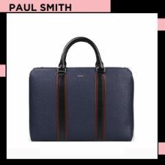 ポールスミス Paul Smith メンズ マルチ カラーブロック 2WAY ブリーフケース ネイビー