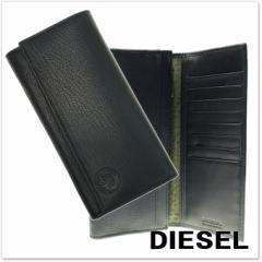 【セール 40%OFF!】DIESEL ディーゼル メンズ二つ折長財布(小銭入れ付き) 24 A DAY / X04154 PR478 ブラック