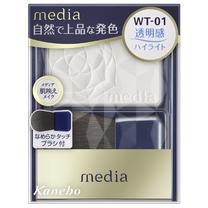カネボウ media(メディア)メディア ブライトアップチークN WT-01