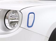 ジープ レネゲード サイド フェンダー フォグ ライト カバー 送料無料