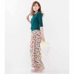 KiraKiraShop* 大胆華やかな花柄パンツ