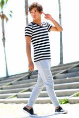 夏はマリンスタイルでキマリ♪大人カジュアルなボーダーTシャツコーデ!キレイめ / カジュアル /シンプル