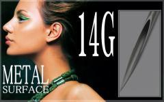 【滅菌済み】 高級サージカルステンレス製 ピアッシングニードル サイズ14G(1.6mm)