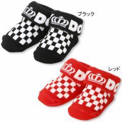 NEW ベビーソックス/フラッグチェック 雑貨 靴下 レッグウェア ベビーサイズ 新生児 ベビードール BABYDOLL 子供服 -8177(v30)