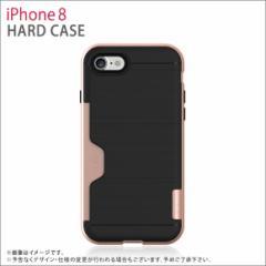iPhone 8/ iPhone 7 ハードケース PHFGLLI7S-RG【6213】 衝撃吸収 Golf LINE カード収納  スリム メタリック ローズゴールド ROOX