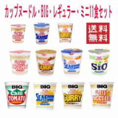 【 送料無料 】【6240円以上で景品ゲット】 カップヌードル BIG+レギュラー+ミニ11食セット