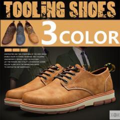 カジュアルシューズ レースアップ カーゴシューズ 靴 メンズ スニーカー メンズシューズ ビジネスシューズ 革靴 PU革 ZJJQ-G1011