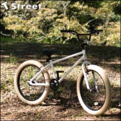 T-STREET 24インチ BMX 完成車 ファットタイヤ クルーザー 2色バリ 自転車
