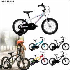 """キッズバイク MARIN マリン 2017 """"DONKY Jr 16"""" 5色バリ 16インチ 自転車"""