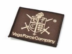 VFC スクエアロゴパッチ 98*80mm (Brown)