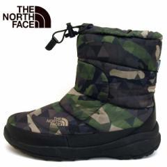 [送料無料]ノースフェイス THE NORTH FACE Nuptse Bootie WP IV 51585 GC ヌプシ ブーティー カモ 防水 防寒ブーツ メンズ