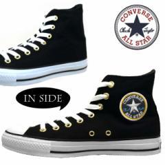 コンバース CONVERSE ALL STAR PLSH HI 1CK355 オールスター ポリスシャツ ハイ 黒 メンズ/レディース