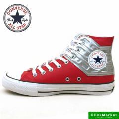 コンバース CONVERSE ALL STAR 100 ULTRASEVEN HI オールスター ウルトラセブン ハイ 1CK821 赤銀 メンズ