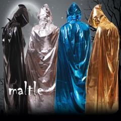 ハロウィン コスチューム マント フードマント 3色 衣装 仮装 仮装用【1178-mant】